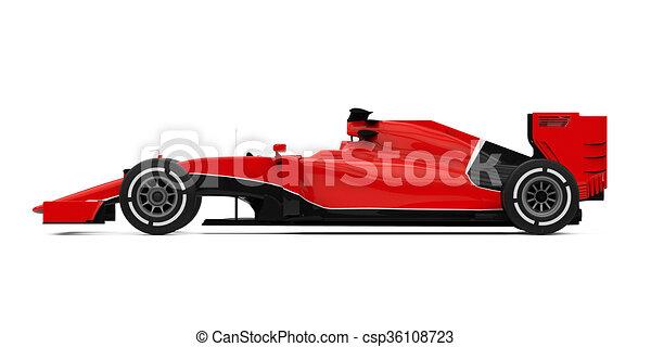 Fórmula uno - csp36108723