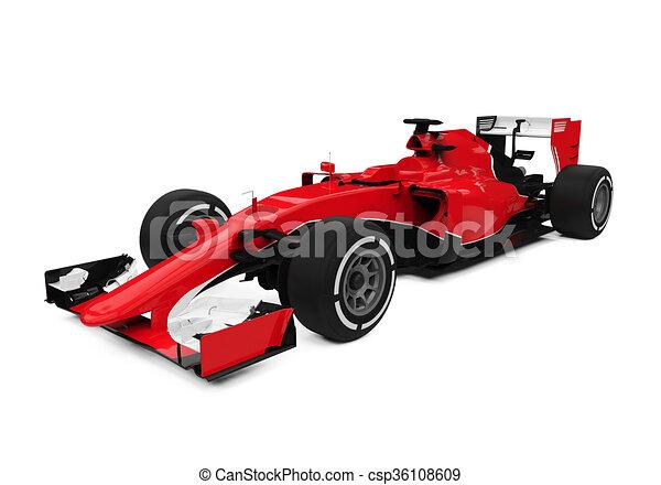 Fórmula uno - csp36108609