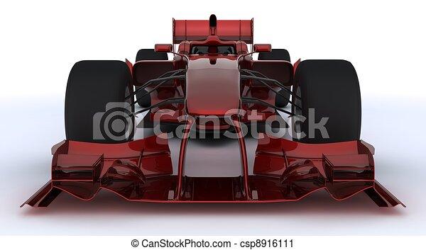 Fórmula un auto - csp8916111