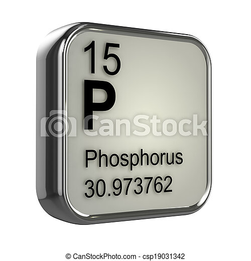 Fsforo 3d elemento render elemento tabla peridica foto de fsforo 3d elemento csp19031342 urtaz Choice Image