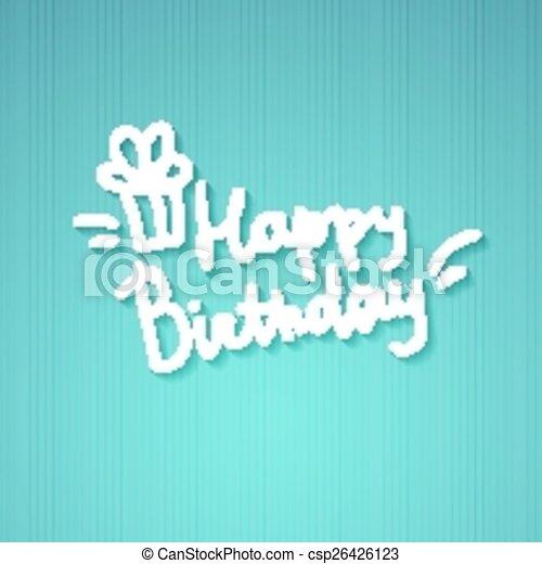 födelsedag, lycklig - csp26426123