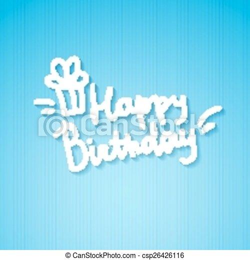 födelsedag, lycklig - csp26426116