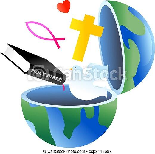 földgolyó, keresztény - csp2113697