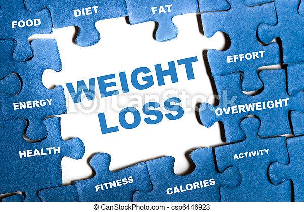 förlust, problem, vikt - csp6446923