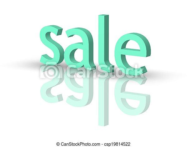 försäljning - csp19814522
