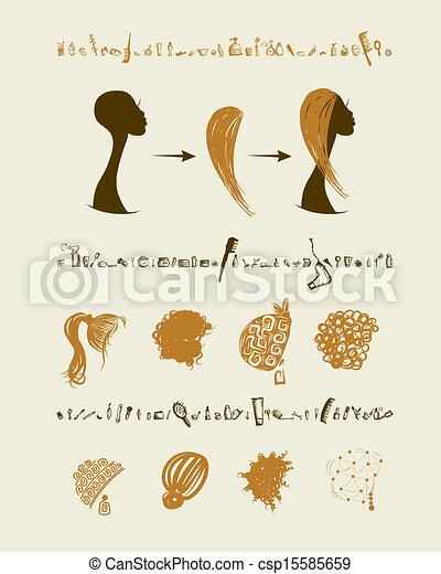 Führen Satz Design Weibliche Frisuren Dein