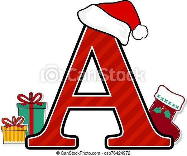 főváros, a.eps, levél, karácsony - csp76424972