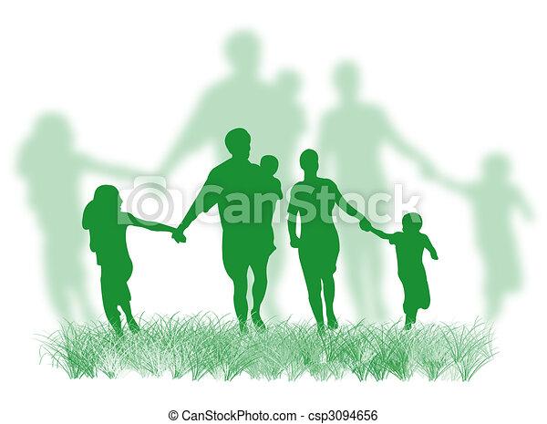 fű család - csp3094656
