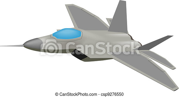 Line Drawing Vector Graphics : Vector graphic of an f 22 raptor aircraft clipart search