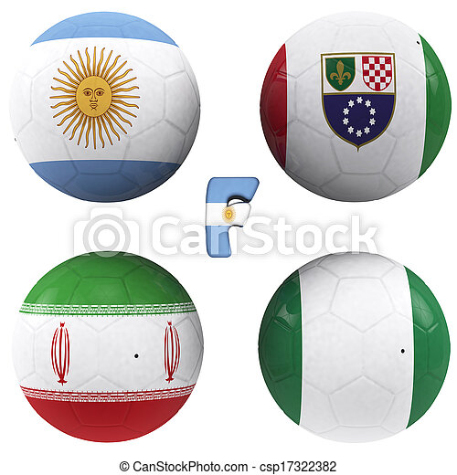 F group of the World Cup - csp17322382