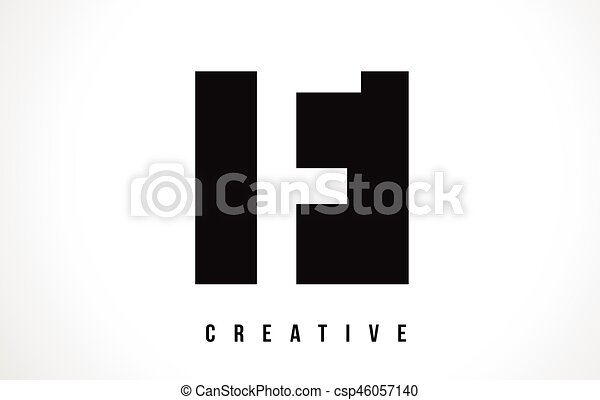 F White Letter Logo Design With Black Square F White Letter Eps