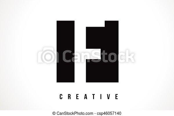 F White Letter Logo Design With Black Square F White Letter Eps