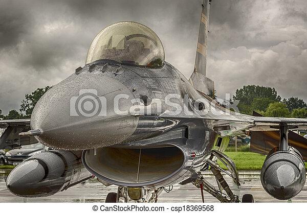 F16 Fighter Jet  - csp18369568