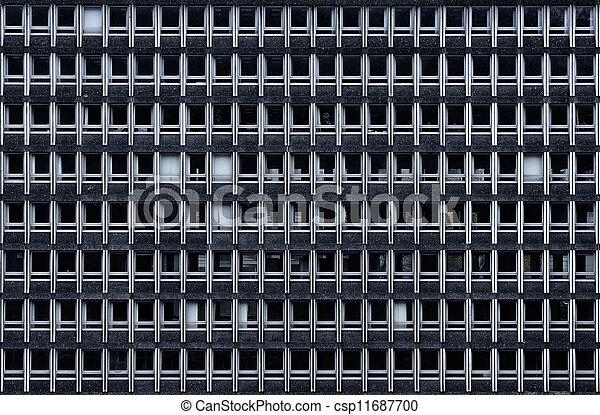 façade bâtiment, bureau - csp11687700