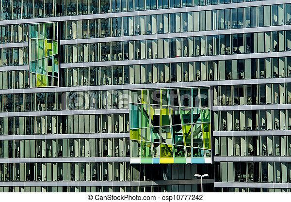 façade bâtiment, bureau - csp10777242
