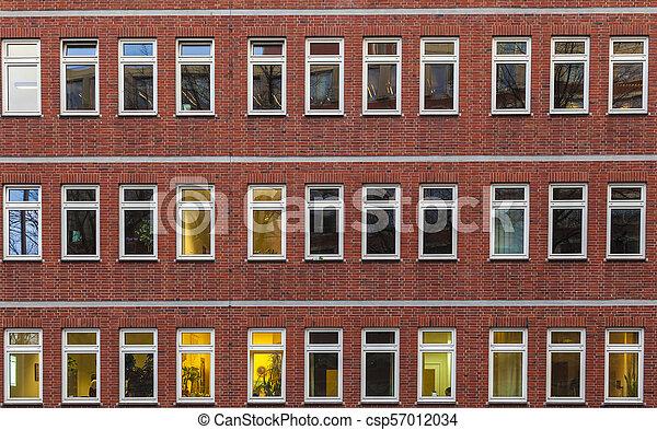 façade, bâtiment, bureau - csp57012034