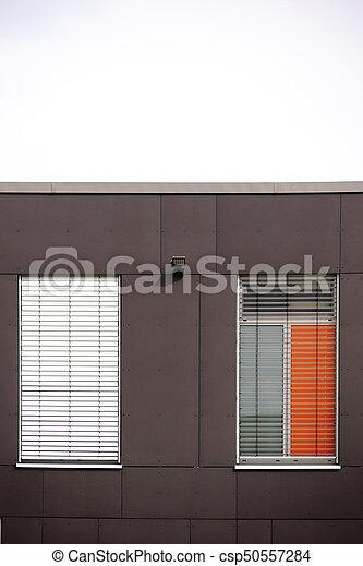 Façade, Maison, Moderne, Fenetres   Csp50557284