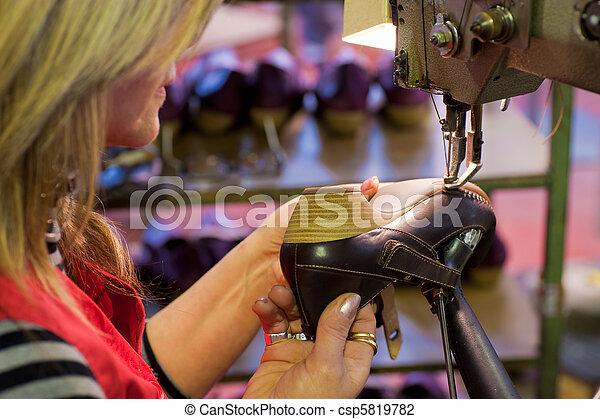 fabbricazione, calzatura - csp5819782