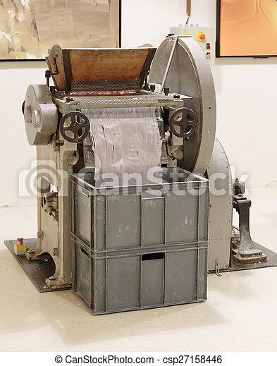 fabbricazione, macchina, sapone - csp27158446