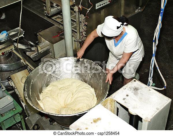 fabbricazione, pasta - csp1258454