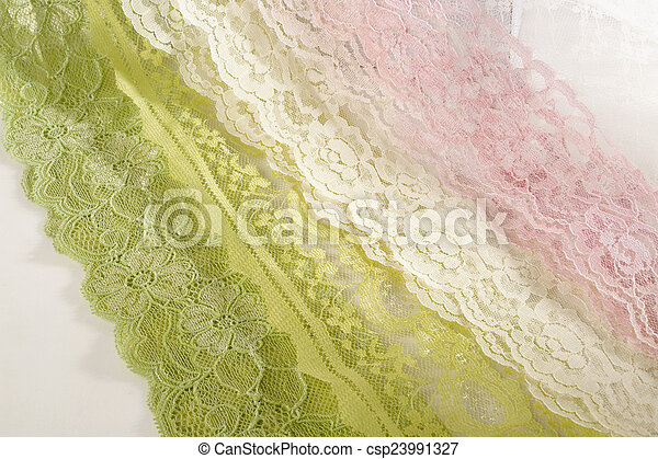 fabric on white background - csp23991327