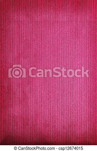 Fabric texture background - csp12674015