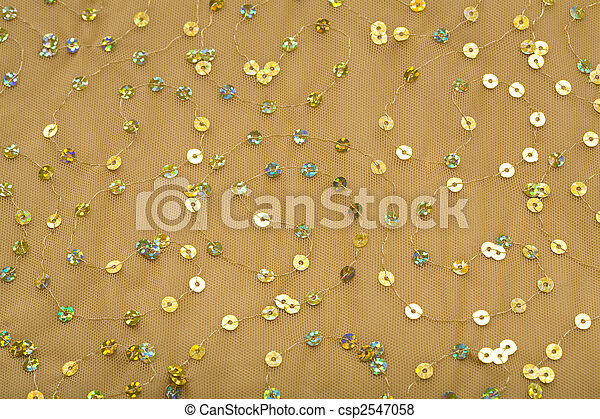 Fabric with Spangles - csp2547058