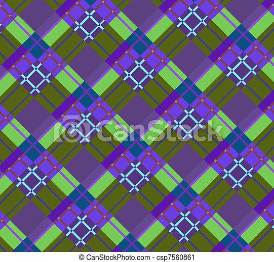 fabric(0).jpg, violet-green, ruitjes - csp7560861