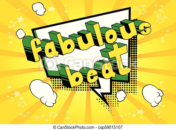 Fabulous Beat - csp59015107