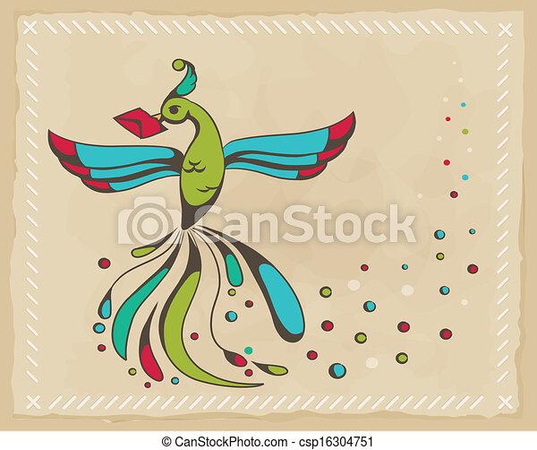Fabulous bird  - csp16304751
