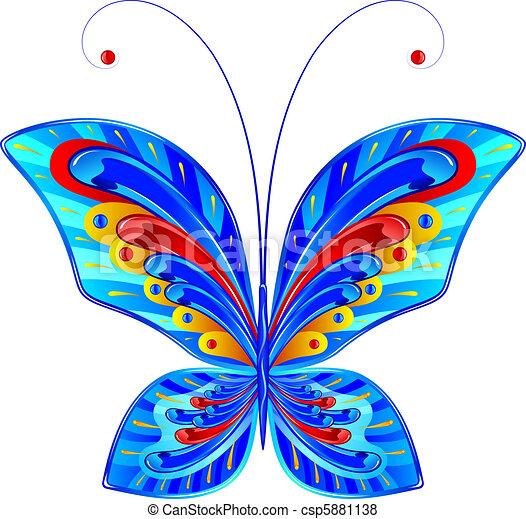 Fabulous butterfly  - csp5881138