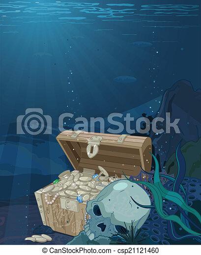 Fabulous treasure - csp21121460