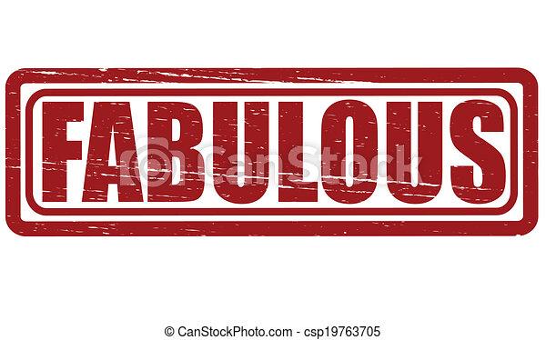 Fabulous - csp19763705