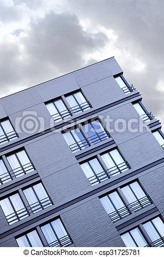 Facade of a modern building - csp31725781