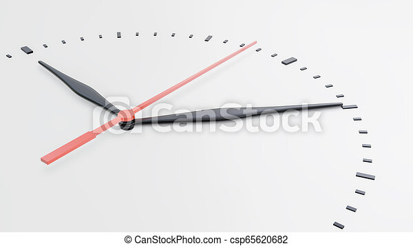 face., άσπρο , απομονωμένος , φόντο , ρολόι  - csp65620682