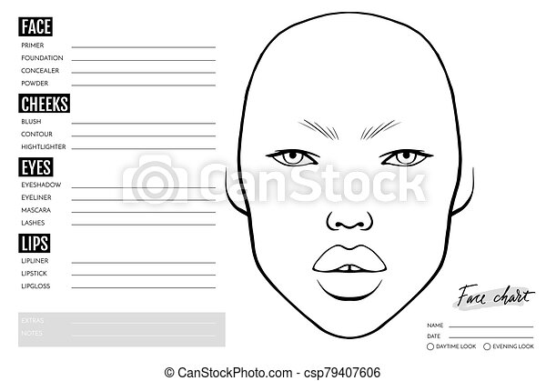FREE! - Blank Face Template Pack | Printable Teaching Resource