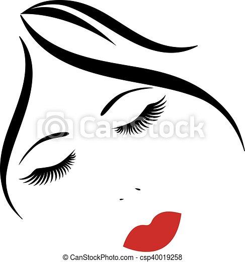 face - csp40019258