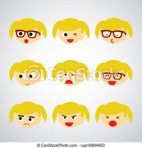 face emotion - csp16894953
