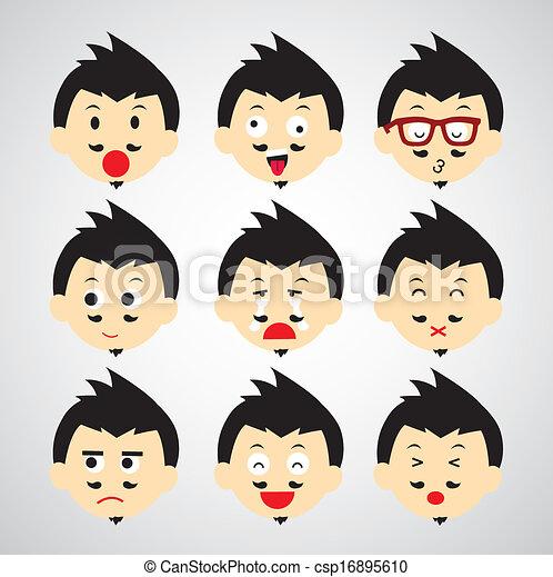 face emotion - csp16895610