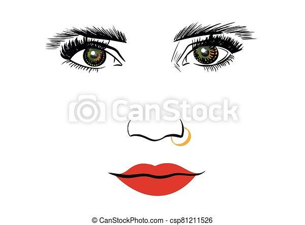 Face - csp81211526