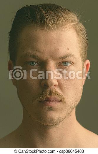 Handsome scandinavian men