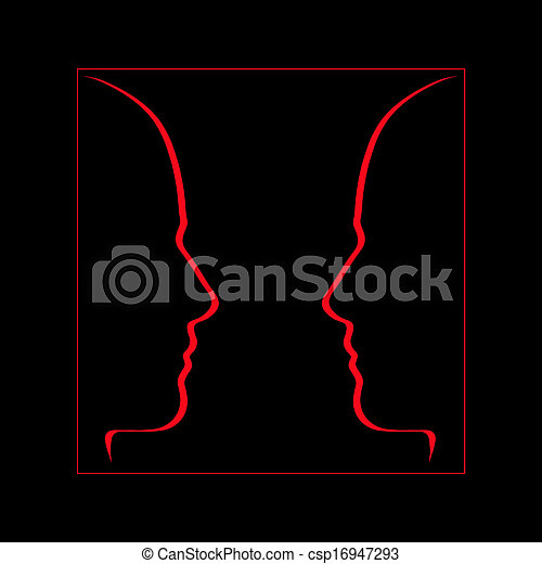 Face to face, communication, conversation - csp16947293