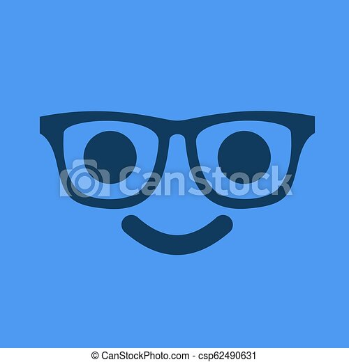 face with glasses - csp62490631