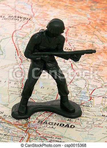 Faceless Soldier - csp0015368
