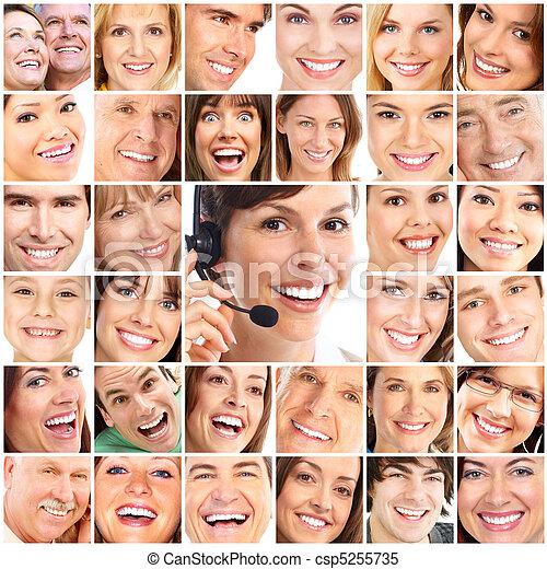 Faces - csp5255735