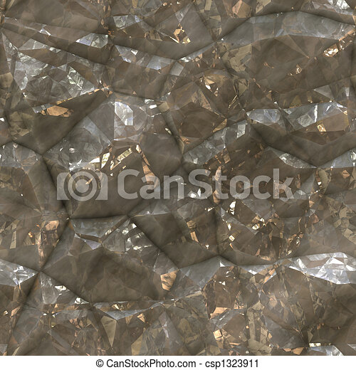 Faceted ore deposits - csp1323911