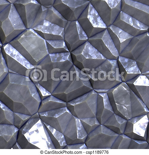 Faceted ore deposits - csp1189776