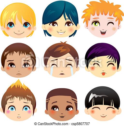 Facial Expression Collection - csp5807707
