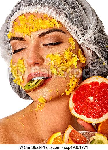 Opinion you Facial fruit mask