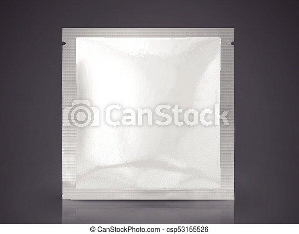 Facial mask or eye mask package blank foil package template in 3d facial mask or eye mask package csp53155526 maxwellsz